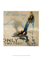 So Many Shoes Fine Art Print