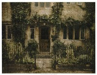 English Cottage IV Fine Art Print