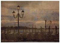 Dawn & the Gondolas I Fine Art Print