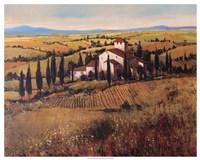 Tuscany III Framed Print