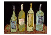 Bottles of White Fine Art Print
