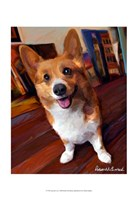Corgi Get Low Fine Art Print