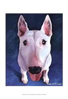 Bull Terrier Bronson Fine Art Print