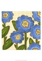 Annie Blue II Fine Art Print