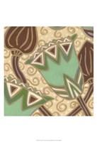 Cleo Aqua I Fine Art Print