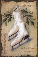 Vintage Ice Skates Fine Art Print