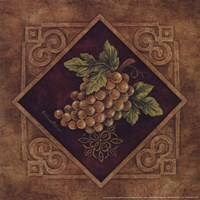 Golden Grapes Fine Art Print