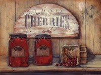 Cherry Jam Framed Print