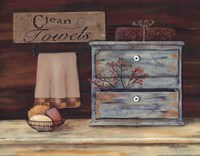 Clean Towels Fine Art Print