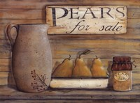 Pears for Sale Fine Art Print