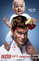 Dexter with Baby Wall Poster