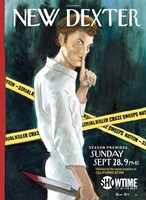 Dexter New York Times Spoof Wall Poster