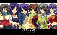 Clannad Extremely Pretty Angels Wall Poster