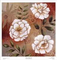 Sienna White II Fine Art Print