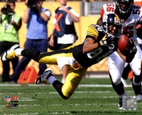 Hines Ward 2010 Action Fine Art Print