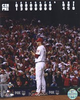 Roy Halladay throws the second no-hitter in MLB postseason history Fine Art Print