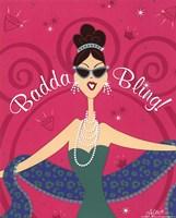 Badda Bling Fine Art Print