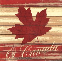 O Canada Fine Art Print