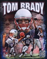 Tom Brady 2010 Portrait Plus Fine Art Print