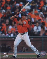 Buster Posey 2010 Action Fine Art Print