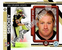 Jeremy Shockey 2010 Studio Plus Fine Art Print