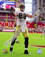 Jeremy Shockey 2010 Action Fine Art Print