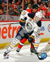 Paul Gaustad 2010-11 Action Fine Art Print