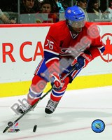 P.K. Subban 2010-11 Action Fine Art Print