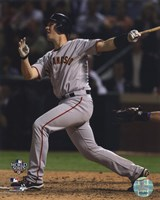 Buster Posey Game Four of the 2010 World Series Home Run Fine Art Print