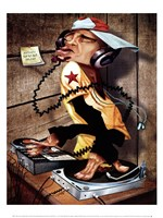 DJ Love Fine Art Print