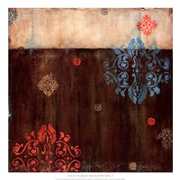Damask Patterns II Fine Art Print