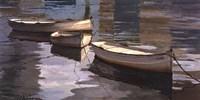 El Descanso de las Tres Barcas Fine Art Print
