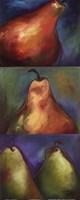 Pears 3 in 1 II Framed Print