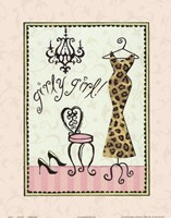 Girly Girl Framed Print