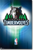 Timberwolves - Logo 10 Wall Poster