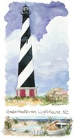 Cape Hatteras Lighthouse Framed Print