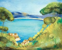 Colors of Saint Tropez Fine Art Print