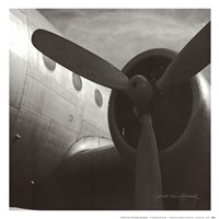 Vintage Flight III Fine Art Print
