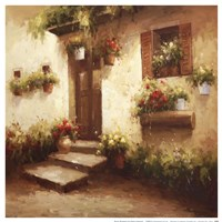 Rustic Doorway II Fine Art Print