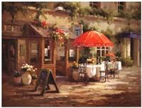 Cafe Beau Monde Fine Art Print