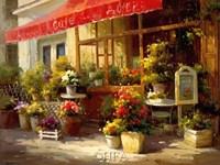 Garden Cafe Fine Art Print
