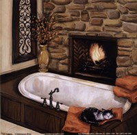 Fireplace Escape I Fine Art Print