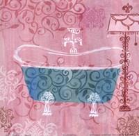 Decorative Tub Fine Art Print