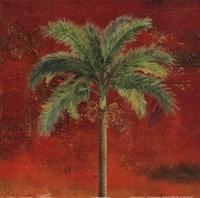 La Palma on Red II Fine Art Print