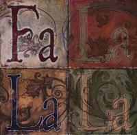 Fa La La La Fine Art Print