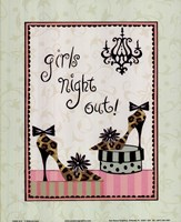 Girls Night Out Fine Art Print
