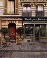 French Store I Framed Print
