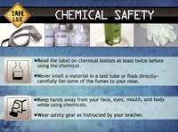 Chemical Safety Framed Print
