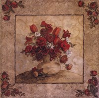 Crimson Love II Framed Print