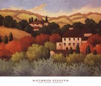 Strove, Tuscany Fine Art Print